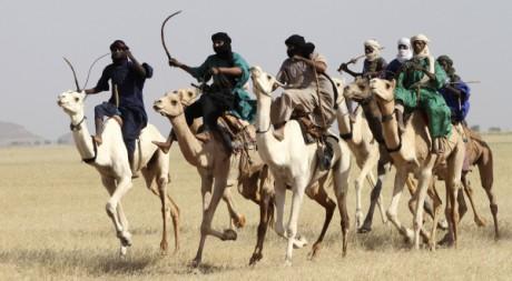 Touaregs dans le Nord du Niger, le 19 septembre 2011. REUTERS/ Luc Gnago