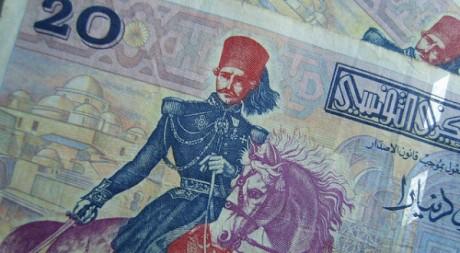 Billet de 20 dinar tunisien © Dearbarbie