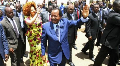 Paul Biya à Yaoundé, octobre 2011 © REUTERS/Akintunde Akinleye