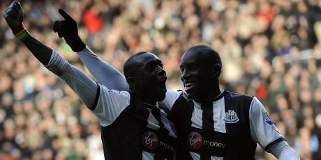 Demba Ba et Papiss Cissé ont respectivement inscrit 16 et 13 buts pour Newcaslte cette saison