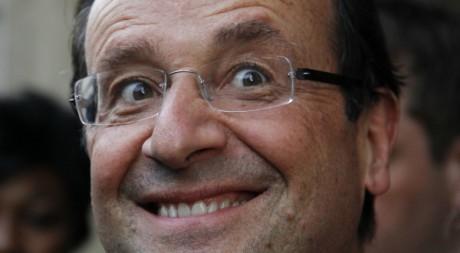 François Hollande le 7 mai 2012 à Paris. REUTERS/Gonzalo Fuentes