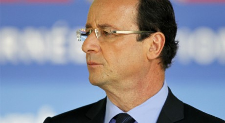 François Hollande lors d'une cérémonie de commémoration de l'abolition de l'esclavage, Paris,10 mai 2012, REUTERS/C. Platiau