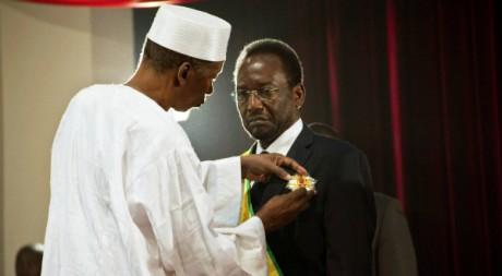 Dioncounda Traoré investi président du Mali par intérim le 12 avril 2012 à Bamako REUTERS/Stringer