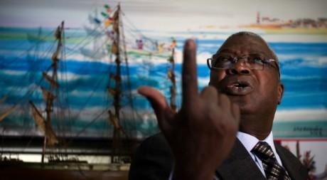 Kofi Yamgnane s'était présenté à l'élection présidentielle togolaise de 2010. OLIVIER LABAN-MATTEI / AFP