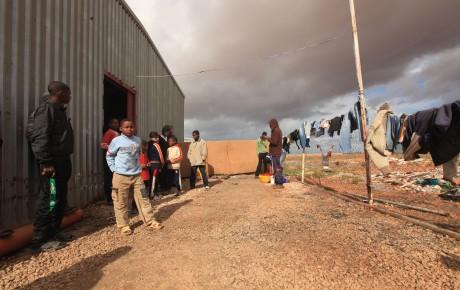Les habitants de Tawergha vivent dans des camps de réfugiés. REUTERS/Esam Al-Fetori