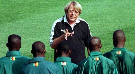 Claude Le Roy a entraîné l'équipe du Cameroun de 1985 à 1988, REUTERS/Str Old