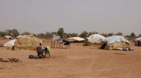 Camp de réfugiés maliens à Mentao au nord du Burkina Faso, Mai 2012 © tous droits réservés