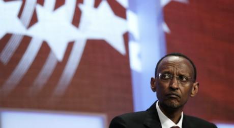 Le président rwandais Paul Kagame, lors d'une conférence à New York, 22 septembre 2011 REUTERS/Lucas Jackson