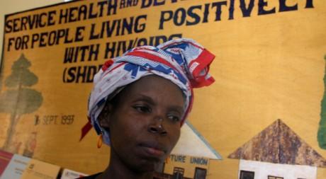 270.000 séropositifs bénéficient d'un traitement par antiretroviraux en Tanzanie. REUTERS/Emmanuel Kwitema