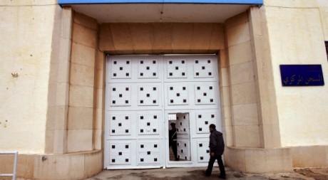L'entrée de la prison de Kenitra, Maroc, 2007. AFP/ABDELHAK SENNA