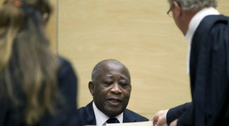 Laurent Gbagbo à la Haye, décembre 2011. REUTERS/POOL New