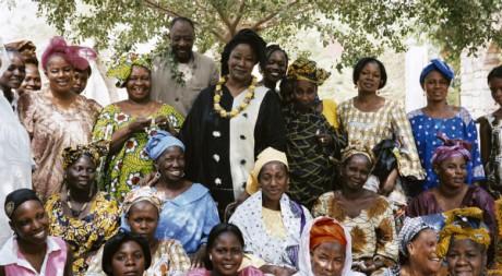 Aminata Traoré (au centre) © tous droits réservés
