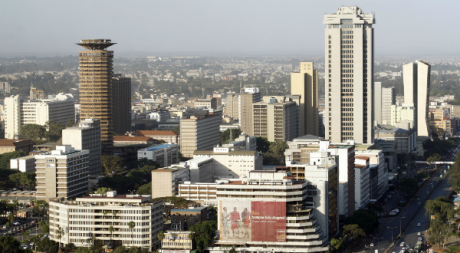 Nairobi view 1, by DEMESH via Flickr CC.