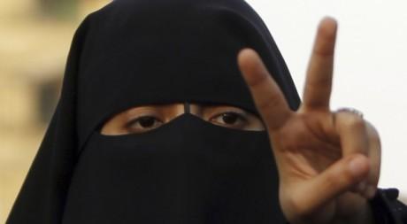 Supportrice de Mohammed Morsi au Caire le 24 juin 2012. Reuters/Amr Dalsh