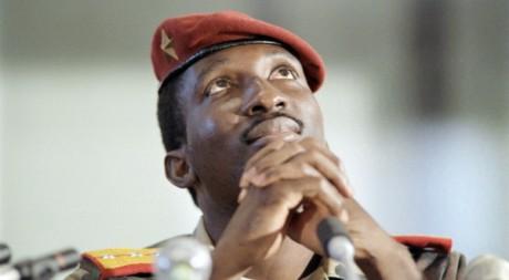 T.Sankara en conférence de presse au Zimbabwe, Harare, 2 sept. 1986, AFP photo D.Faget/A. Joe