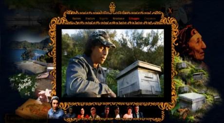 capture d'écran du webdocumentaire L'archipel des échappés réalisé par les journalistes Laura Guien et Stéphanie Plasse