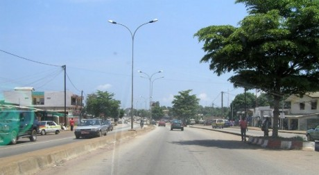 Conakry street, by Jeff Attaway via Flickr CC.