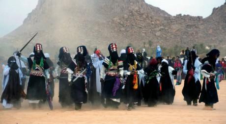 Festival touareg de la Sbiba à Djanet dans le désert algérien, 7 janvier 2009 © Magharebia/Flickr