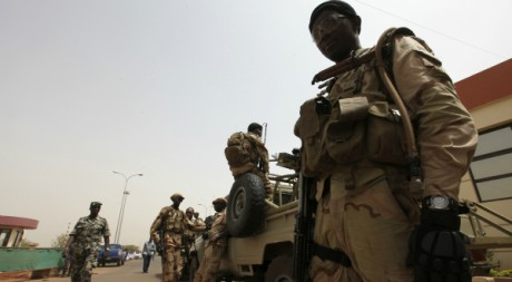 Soldats maliens, Bamako, 29/03/2012, REUTERS/Luc Gnago