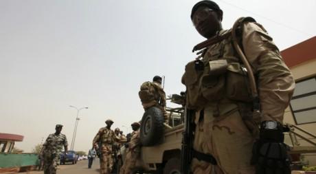 Soldats maliens, Bamako, 29/03/2012, REUTERS/Luc Gnago