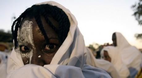 Un Haïtien au carnaval de Port au Prince le 26 février 2006. Reuters/Eduardo Munoz