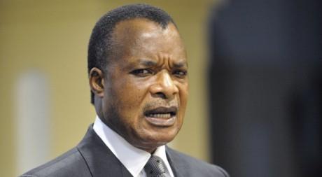 Le président congolais Denis Sassou Nguesso, Brazzaville, 26/03/2009, REUTERS/POOL New