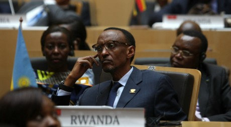 Le prsident rwandais Paul Kagame  Addis Abeba, Ethiopie, 28 janvier 2012, REUTERS/Noor Khamis
