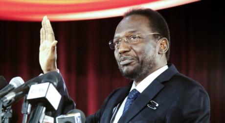 Dioncounda Traoré, lors de son investiture à Bamako, le 12 avril 2012, REUTERS/Stringer