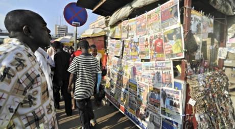 Kiosques à journaux, Ghana © Yaw Bibini / Reuters