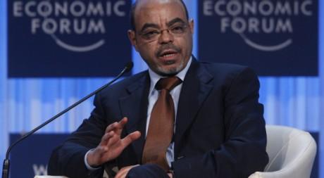 Mlaes Zenawi au Fourm économique de Davos, 26 janvier 2012, REUTERS/Christian Hartmann