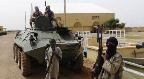 Combattants du Mujao à Gao, nord-est du Mali, 08 août 2012, REUTERS/Stringer