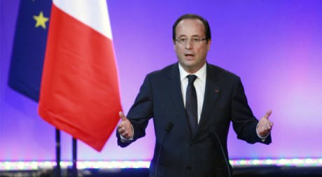 François Hollande lors de la grande conférence sociale à Paris, le 09 juillet 2012, REUTERS/POOL New