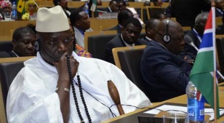 Le president Yahya Jammeh à Addis Abeba, le 15 juillet 2012. REUTERS