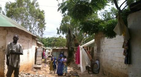 Un quartier de Peuls guinéens à Dakar. Tous droits réservés