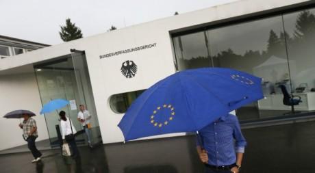 Malgré la crise, le modèle européen reste une source d'inspiration. © REUTERS/Kai Pfaffenbach
