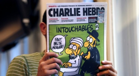 La couverture du dernier numéro de Charlie Hebdo. THOMAS COEX / AFP