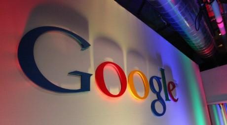Google Logo in Building43, by Robert Scoble via Flickr CC.