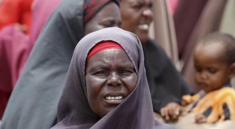 Une déplacée somalienne à Mogadiscio, septembre 2012. © REUTERS/Ismail Taxta