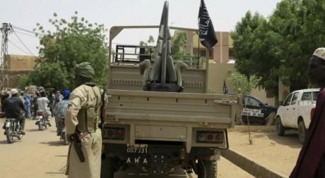 Des combattants du Mujao dans le Nord du Mali, le 10 septembre 2012. Reuters