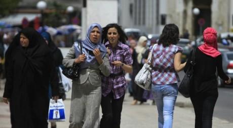 Des femmes dans les rues d'Alger, mai 2010 © REUTERS/Zohra Bensemra