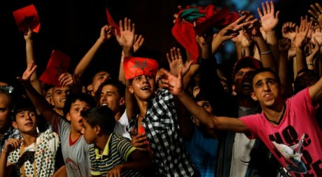 Concert de Cheb Mami à Oujda le 24 juillet 2011.  Youssef Boudlal / Reuters
