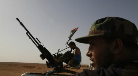 Rebelles de Bani Walid le 12 juillet 2012. Reuters/Youssef Boudlal