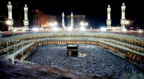 La Mecque, le 16 novembre 2010, AFP photo/ Mustafa Ozer