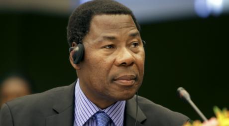 Boni Yayi, lors d'une réunion de l'Union africaine, Addis Abeba, janvier 2012, © REUTERS/Noor Khamis
