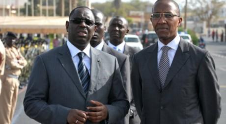Le président Macky Sall en compagnie de son Premier ministre Abdoul Mbaye, le 3 mai 2012. AFP/Seyllou