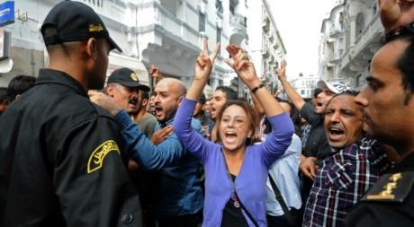 Manifestation à Tunis le 23 octobre 2012. AFP/FETHI BELAID