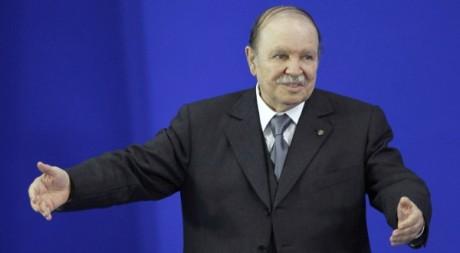 Abdelaziz Bouteflika, à Sétif, mai 2012. © REUTERS/Louafi Larbi