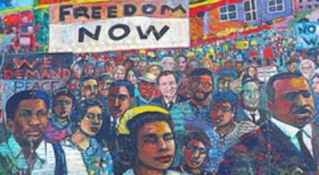 Coretta Scott King Mural par Jimbowen0306