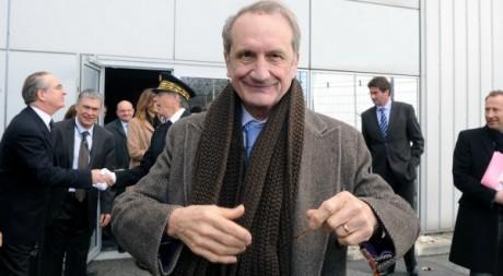 Gérard Longuet à Toulouse le 6 mars 2012. AFP/ERIC CABANIS