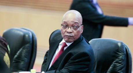 Jacob Zuma lors d'une réunion à Beijing, juillet 2012. ©REUTERS/POOL New